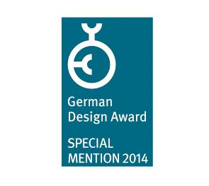 German Design Award Special mention 2014